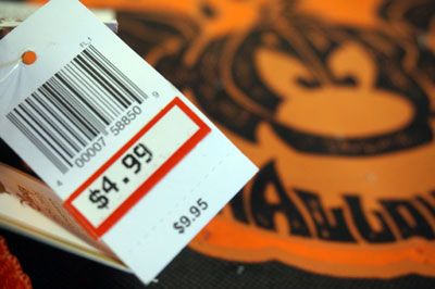 In mid-2014 you can buy the 2013 Halloween bag for $4.99, vs. the original $9.95 price.