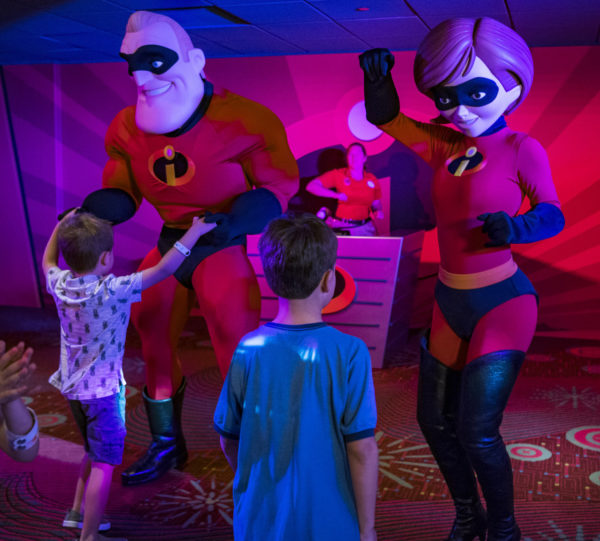 Kids can enjoy food and fun at the Pixar Play Zone. Photo credits (C) Disney Enterprises, Inc. All Rights Reserved