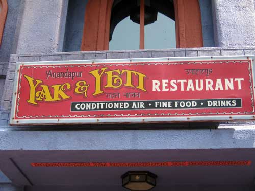 The Yak & Yeti offers great food and great storytelling.