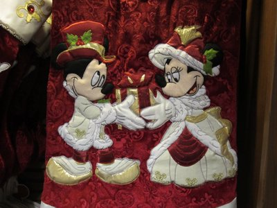 Of course, Mickey and Minnie make plenty of appearances in the merchandise.