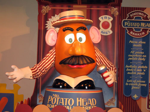 Mr. Potato Head is an amazing technical achievement.