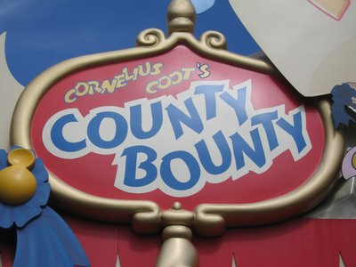 The huge County Bounty shop made lots of money.