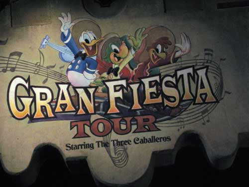 The Gran Fiesta Tour is a fun, Mexican-themed water dark ride with everyone's favorite duck- Donald!