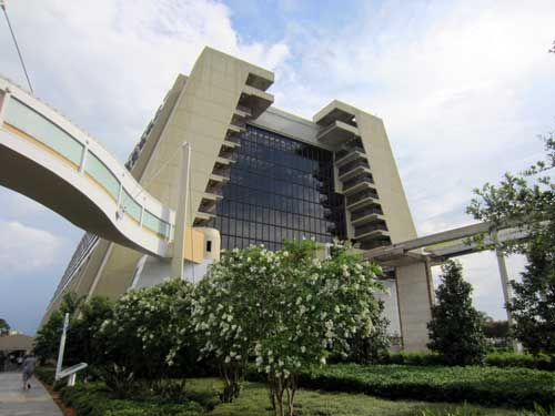 The Contemporary Resort - location, location, location.