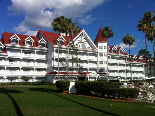 The Grand Floridian - beautiful but at a price.