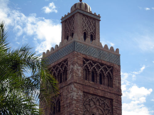 You may be able to see the Tower of Terror from Epcot, but it doesn't intrude.