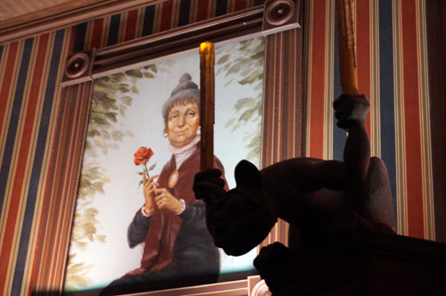 The Ghost Host has plenty of memorable dialog lines in the Haunted Mansion.