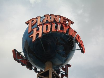 Disney Dining Planet Hollywood