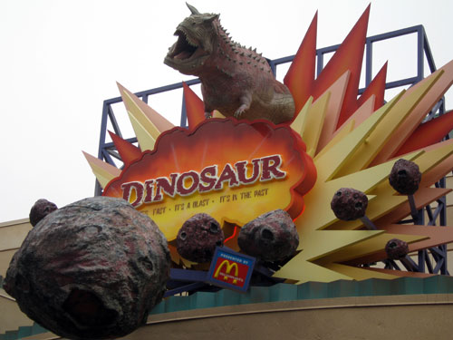 Dinosaur - bumpy, scary, and fun!