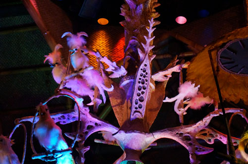 The Tiki Room has great music and a fun show.