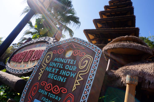 Welcome to Walt Disney's Enchanted Tiki Room.