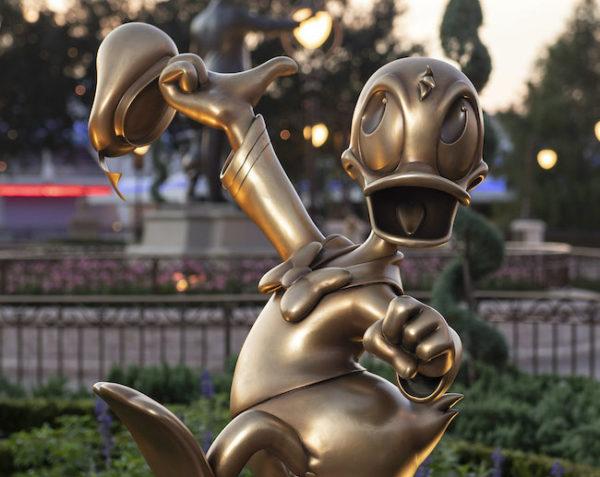 Donald Duck at Magic Kingdom. Photo credits (C) Disney Enterprises, Inc. All Rights Reserved