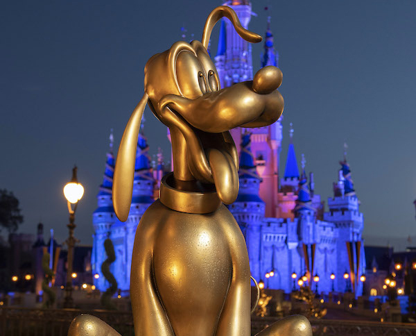 Pluto looks happy to be in the Magic Kingdom! Photo credits (C) Disney Enterprises, Inc. All Rights Reserved