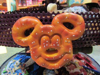 This Mickey pretzel looks amazing!