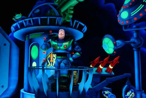 See how many points you can score in Space Ranger Spin!