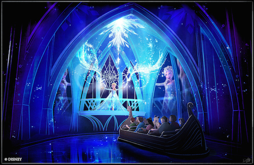 Frozen Ever After is coming soon.