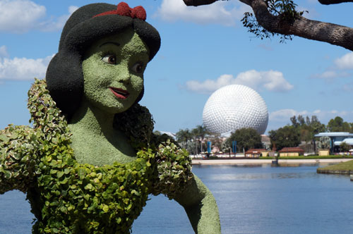 Disney's topiaries are works of art.