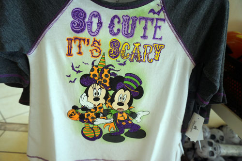 Halloween t-shirt: So cute it's scary.