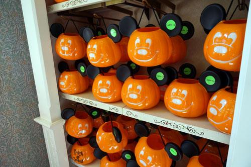 Trick or treat pumpkins.