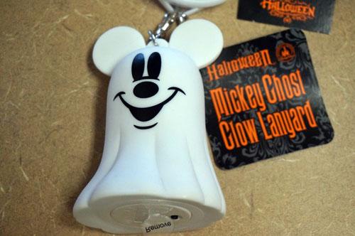 Mickey Ghost Glow Lanyard
