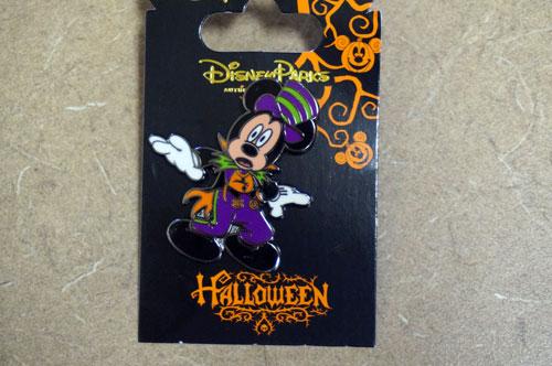 Halloween Mickey Mouse Disney Trading Pin