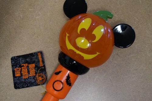 Mickey Pumpkin Glow Flashlight