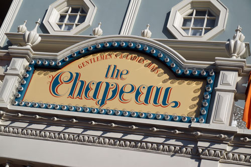 Welcome to The Chapeau on Main Street.