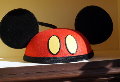 Fun take on the classic Mickey hat.
