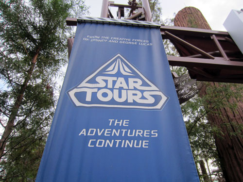 Want to ride Star Tours? You need to be 40 inches tall.