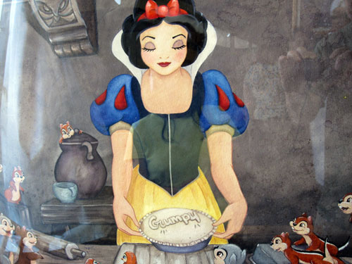 Snow White as a blockbuster for the Disney Company.