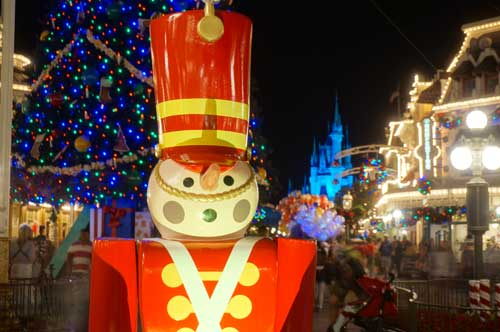 At Disney World, Christmas starts as soon as Halloween ends.