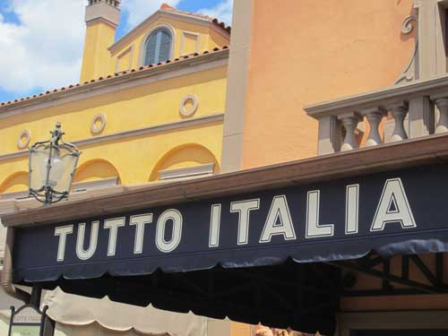 Enjoy some of the best food around at Tutto Italia.