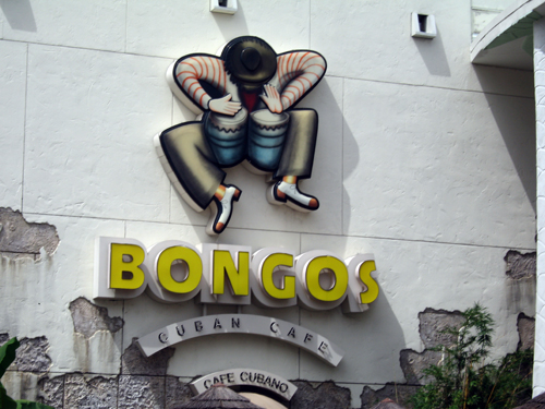 Bongos not only serves up good food but has a fun atmosphere too.
