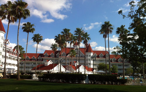 The Grand Floridian is home to several different luxury experiences.