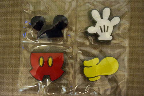 Collection of Mickey parts.
