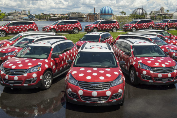 The now-defunct Minnie Vans are another example of the long-standing Disney - GM partnership.