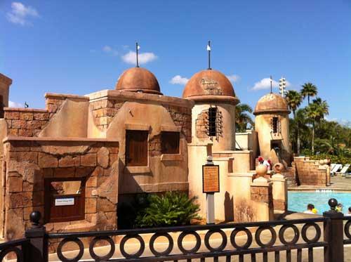 The Caribbean Beach Resort has an incredible pool.