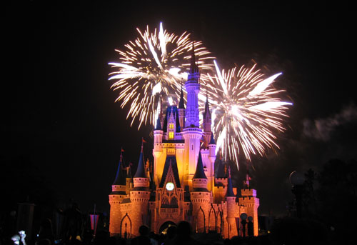 Disney World is practically synonymous with fireworks!
