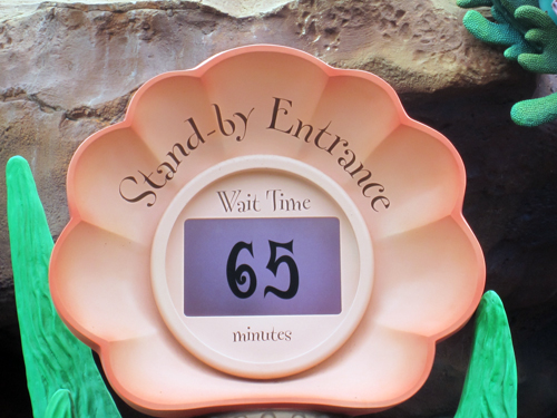 All wait times are approximate and Cast Members don't compensate guests for longer-than-expected wait times.