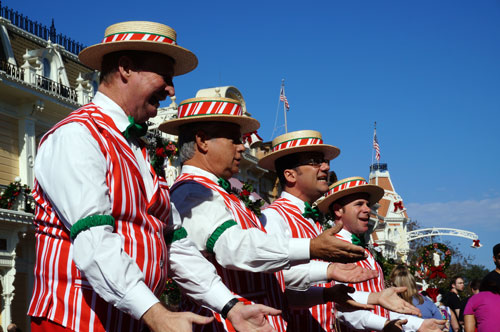 Enjoy some turn-of-the-century entertainment with the Dapper Dans.