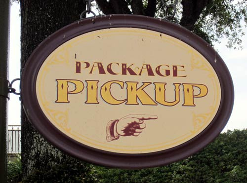 Package Pickup and Resort Delivery can make your life easier.