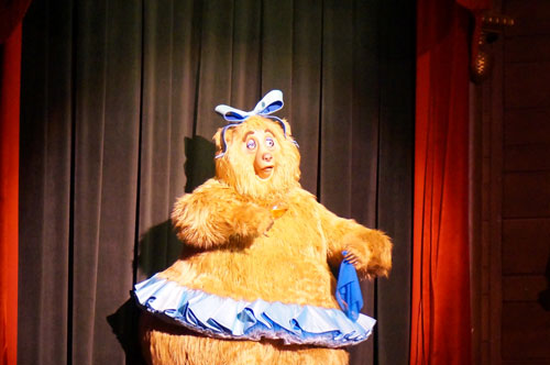 The Country Bear Jamboree was originally intended for Mineral King.