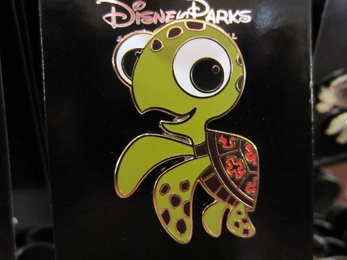 You can find many different Disney characters on pins.