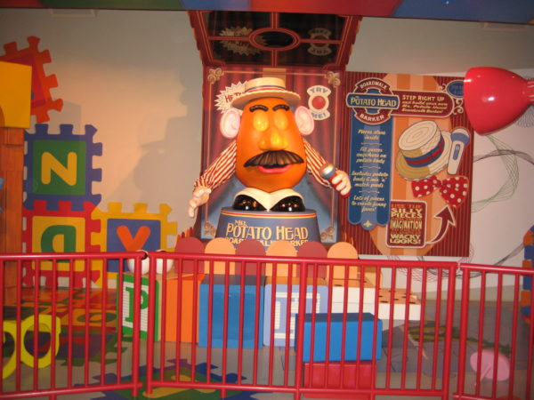 Mr. Potato Head was and still is the most advanced audio-animatronic that Disney has ever created!