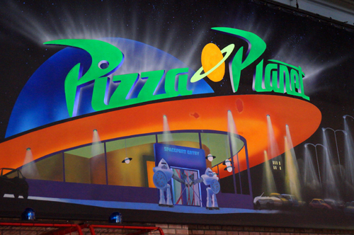 We don't know how much will change when Pizza Planet becomes PizzeRizzo.