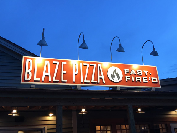 Blaze Pizza at Disney Springs is a winner.