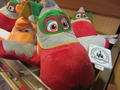 Plush toys from Disney Planes.