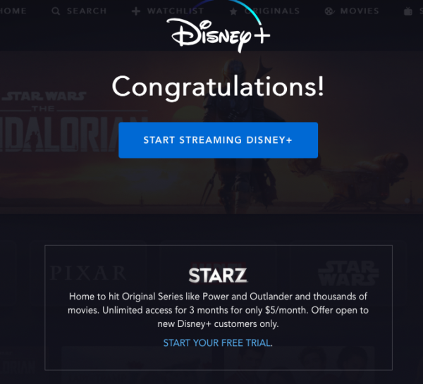 Congratulations! You can start streaming right away!