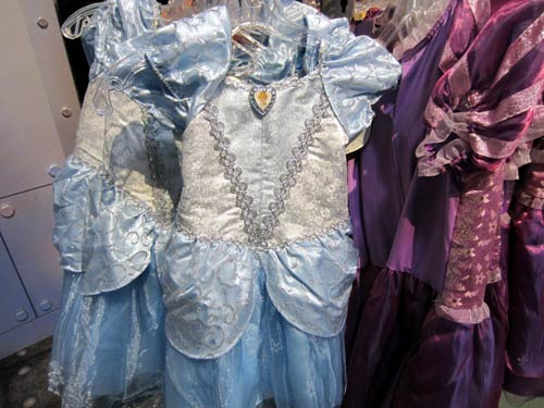 Disney princess dresses can be fun - but also expensive.