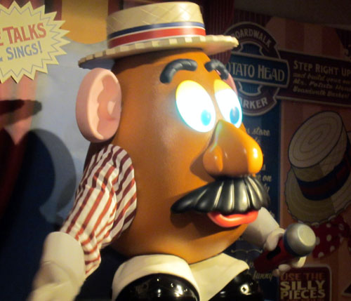 You've gotta love Mr. Potato Head!
